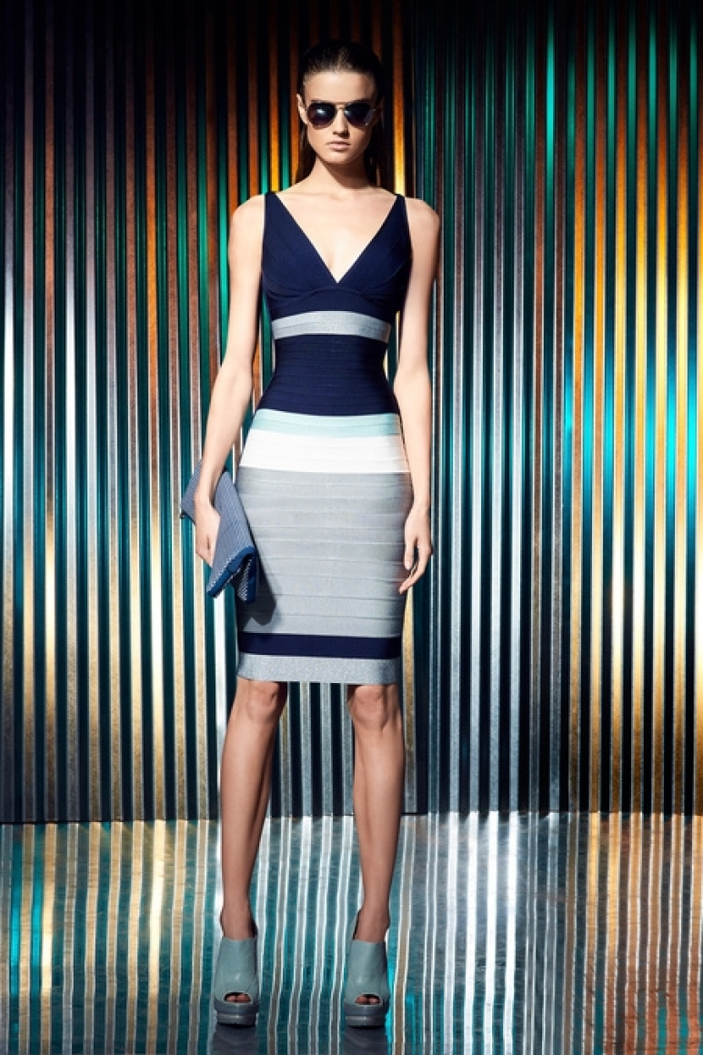 Herve Leger by Max Azria Resort 2014 #27