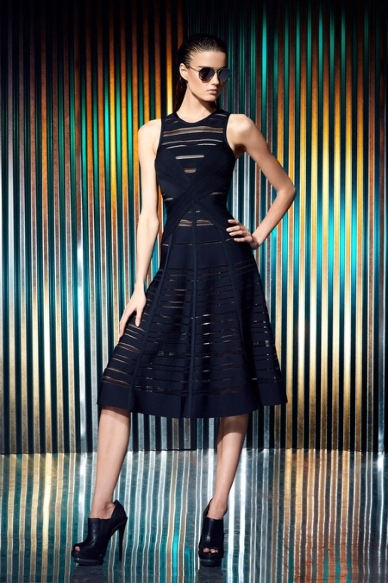 Herve Leger by Max Azria Resort 2014 #2