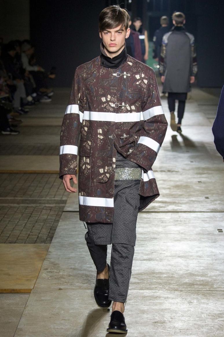 Dries van Noten Menswear осень-зима 2015/2016 #30