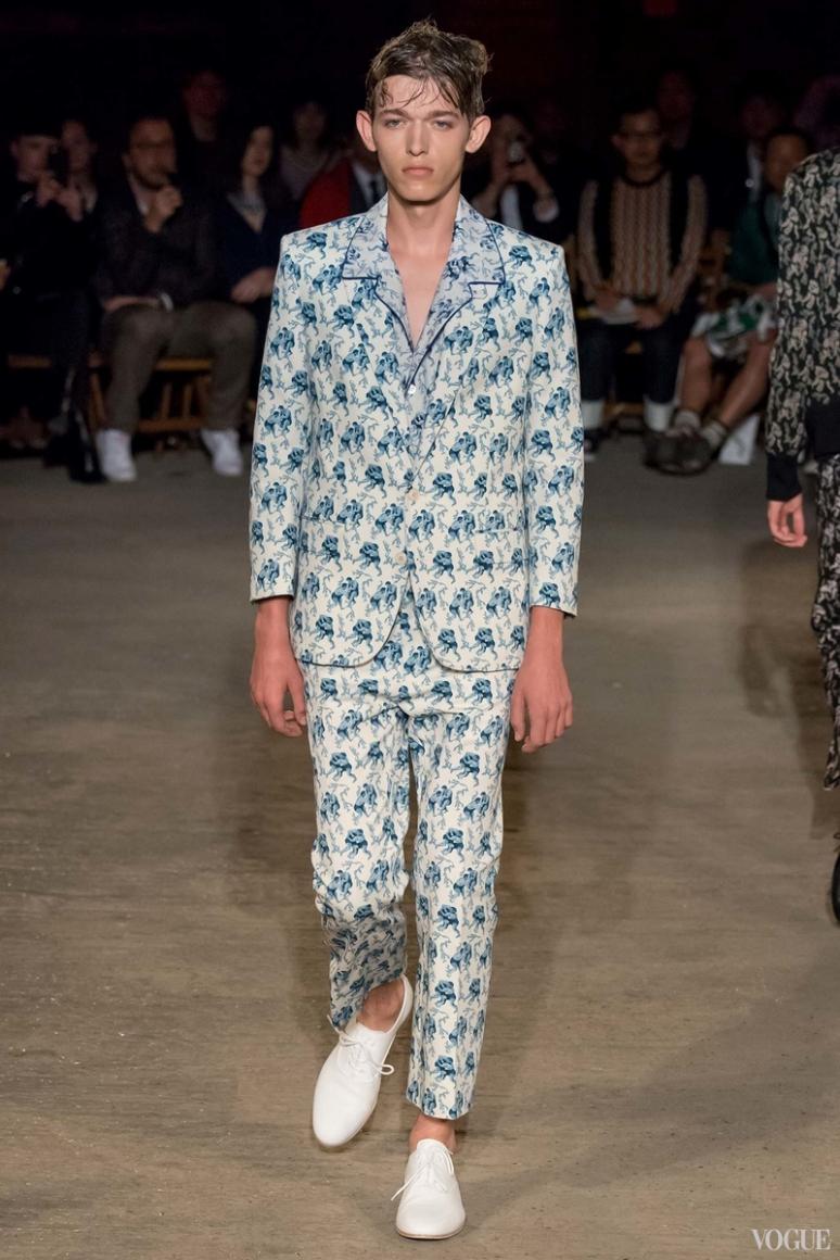Alexander McQueen Menswear весна-лето 2016 #17