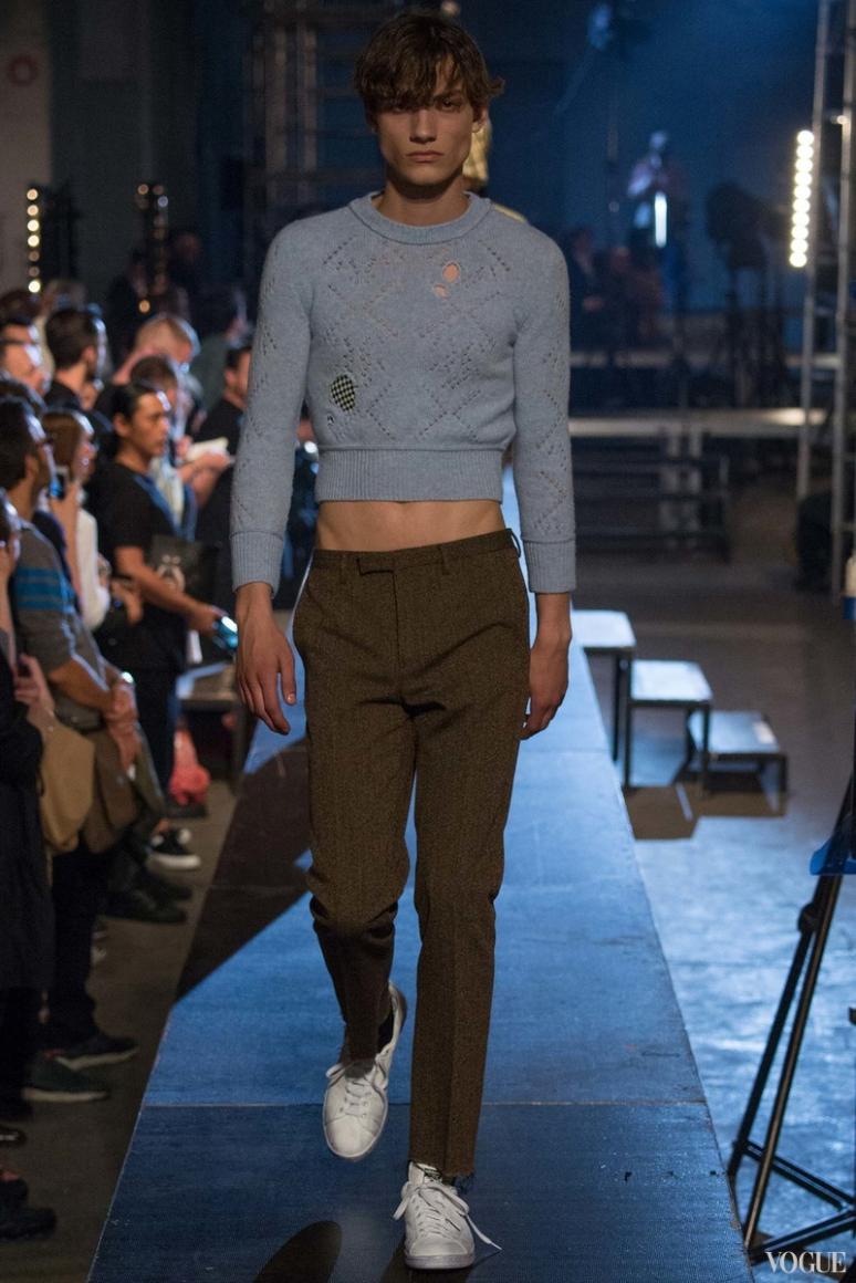 Raf Simons Menswear весна-лето 2016 #12