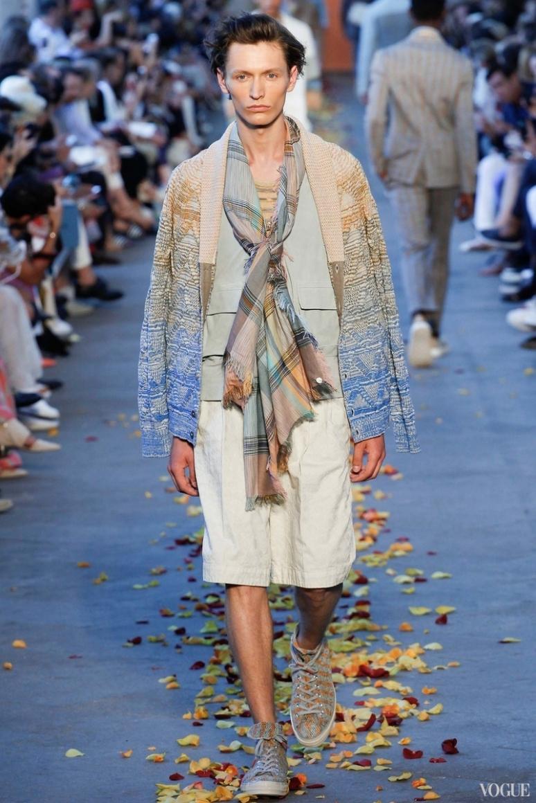 Missoni Menswear весна-лето 2016 #29