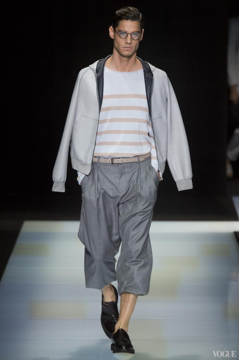 Giorgio Armani Menswear весна-лето 2016 #23