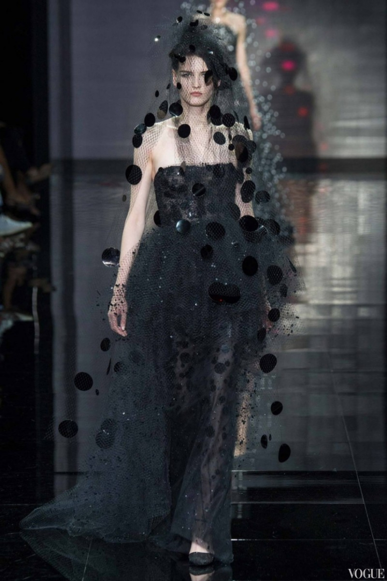 Armani Priv? Couture осень-зима 2014/2015 #9