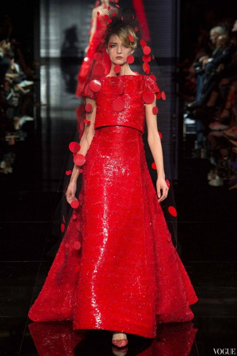 Armani Priv? Couture осень-зима 2014/2015 #5