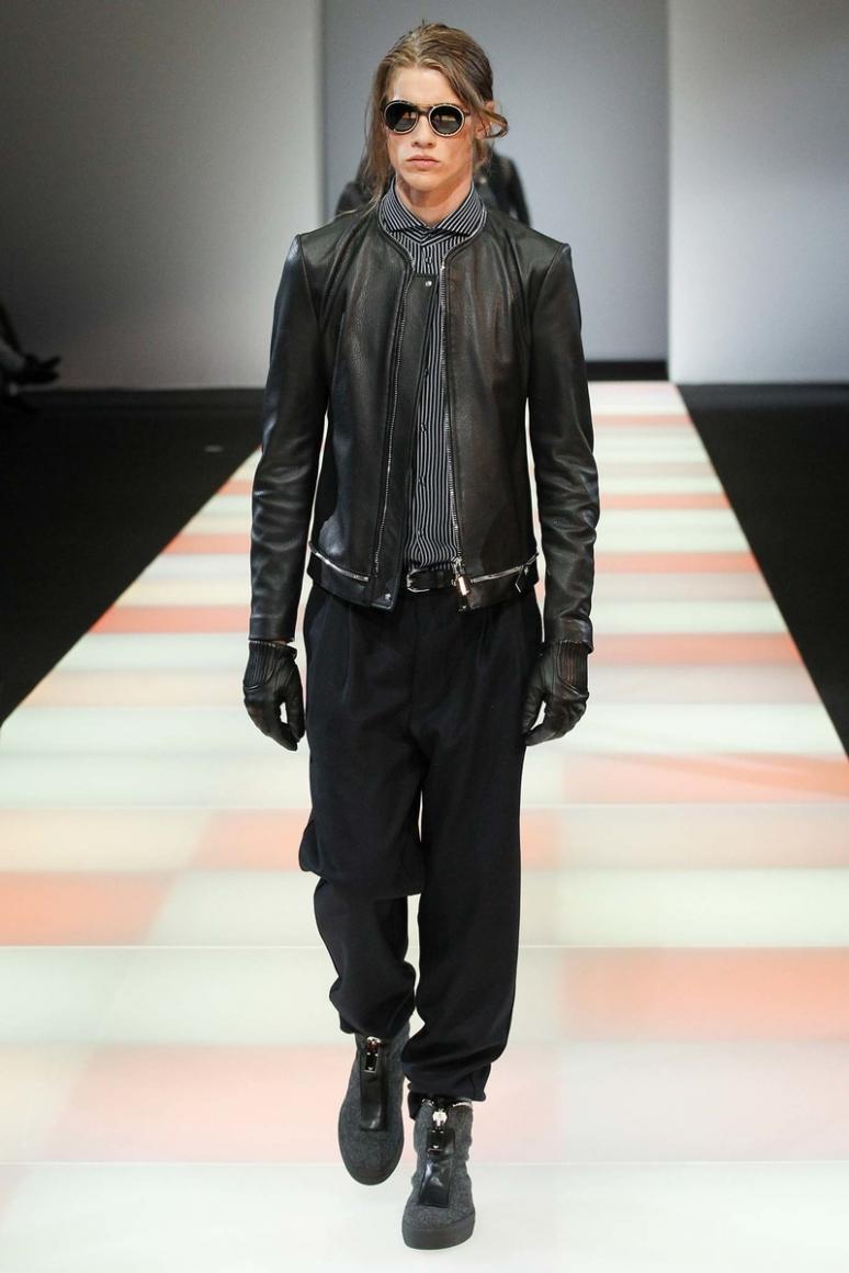 Emporio Armani Menswear осень-зима 2015/2016 #33