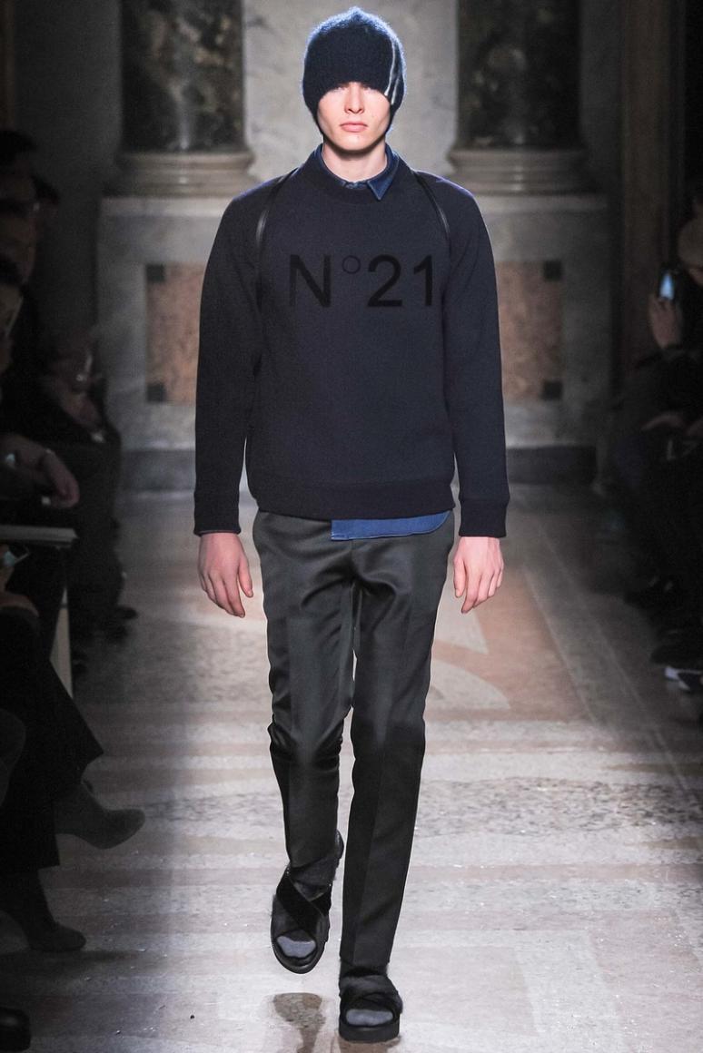 No. 21 Menswear осень-зима 2015/2016 #20