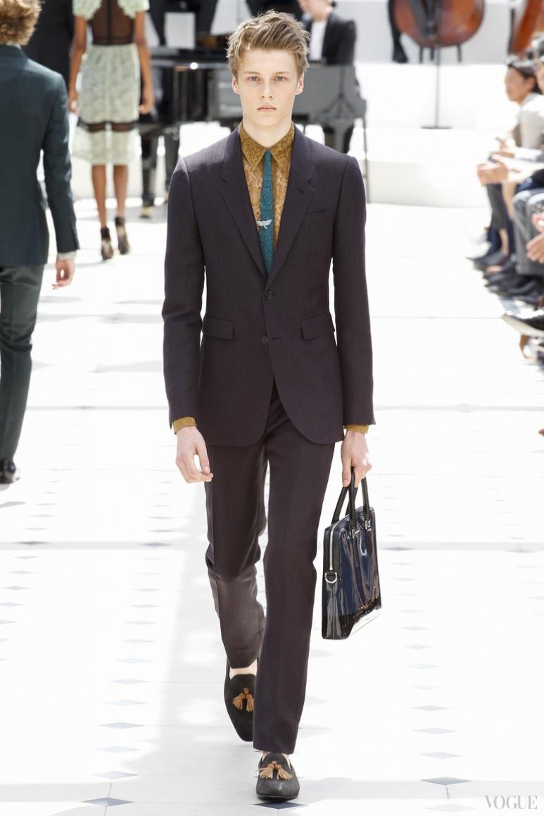 Burberry Prorsum Menswear весна-лето 2016 #46