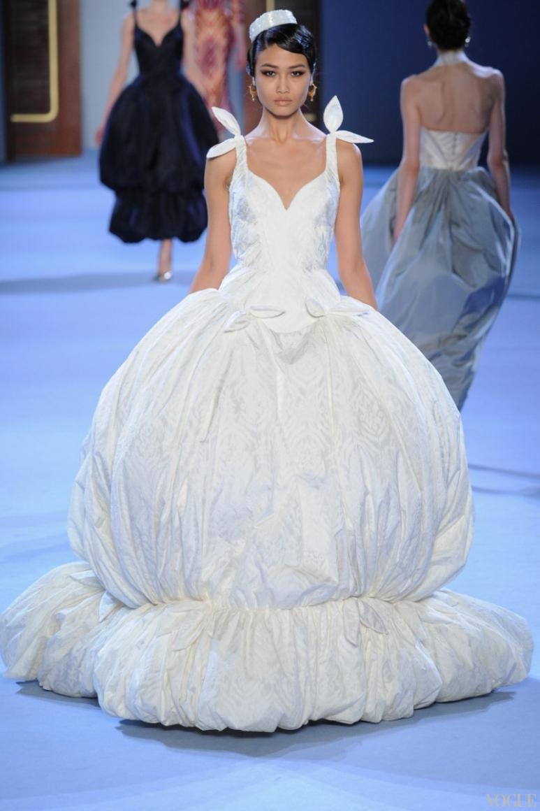 Ulyana Sergeenko Couture весна-лето 2014 #39