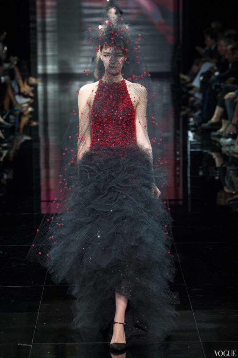 Armani Priv? Couture осень-зима 2014/2015 #10