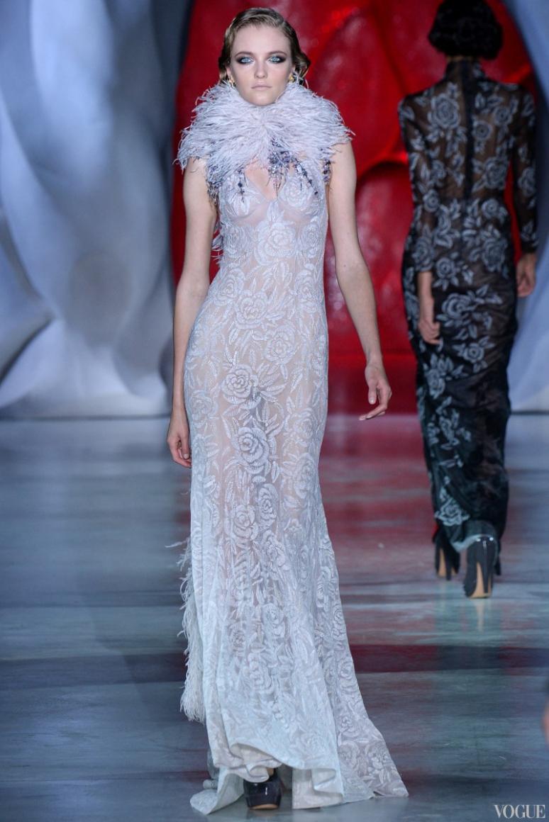 Ulyana Sergeenko Couture осень-зима 2014/2015 #3