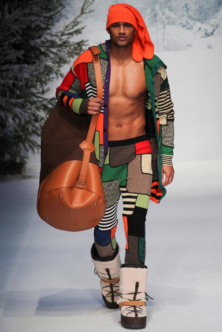 Moschino Menswear осень-зима 2015/2016 #58