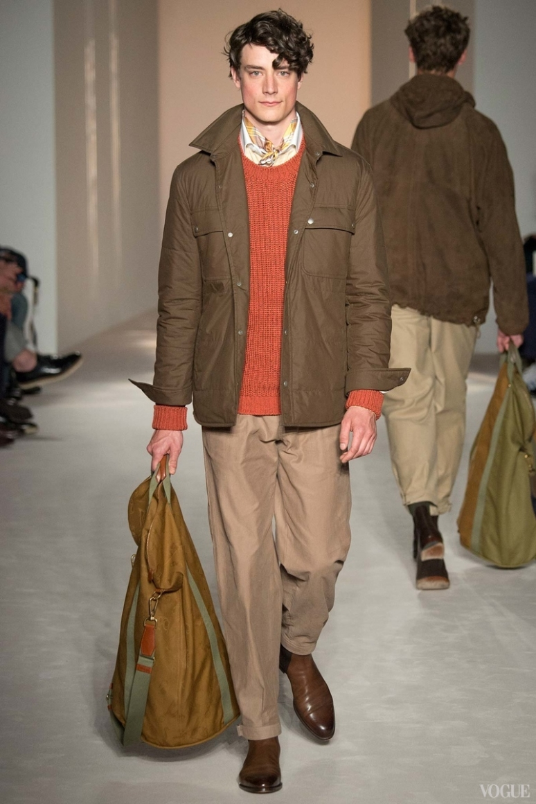 Dunhill Menswear весна-лето 2016 #14