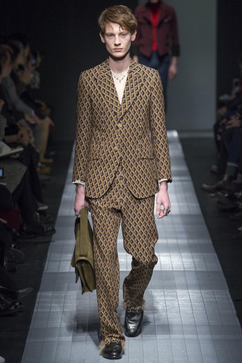 Gucci Menswear осень-зима 2015/2016 #13