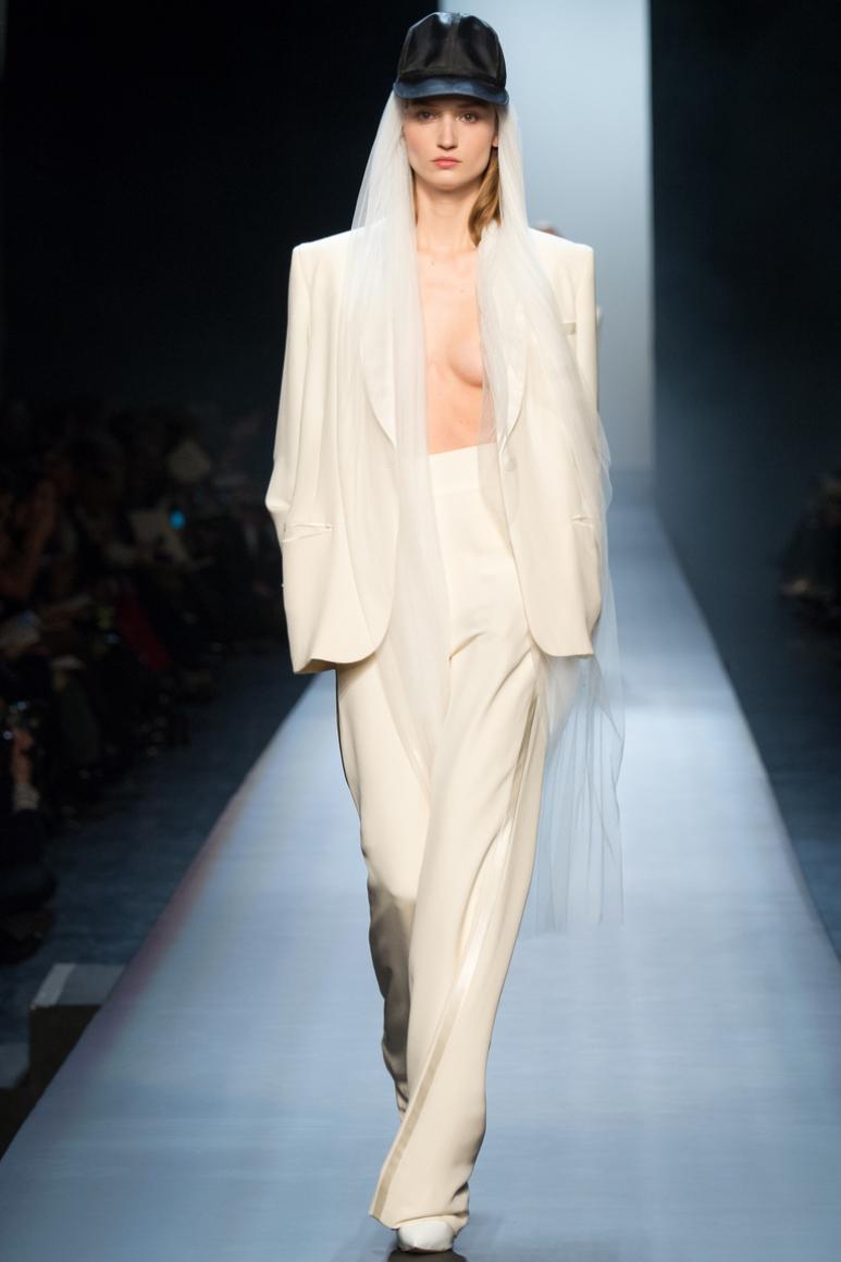Jean Paul Gaultier Couture весна-лето 2015 #61