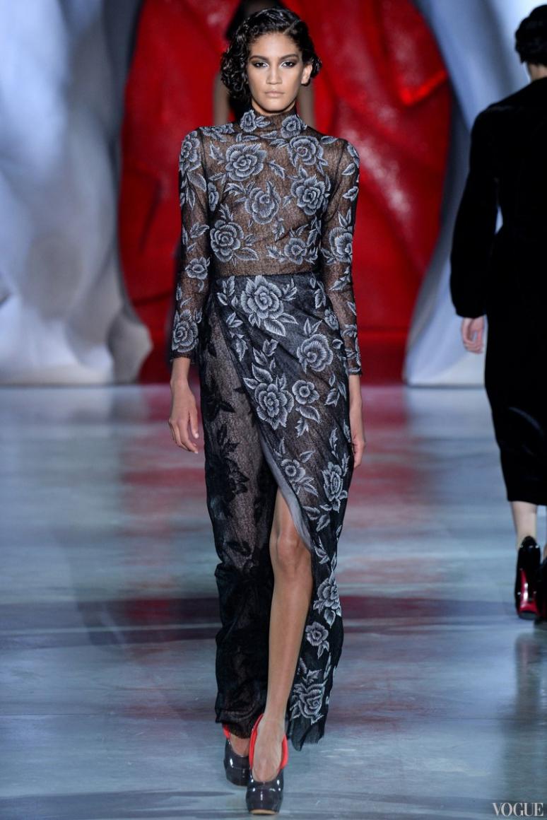 Ulyana Sergeenko Couture осень-зима 2014/2015 #2