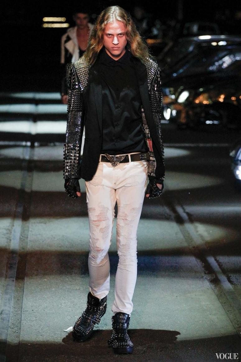 Philipp Plein Menswear весна-лето 2016 #52