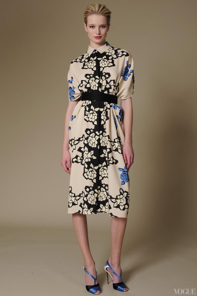Carolina Herrera Couture весна-лето 2013 #15