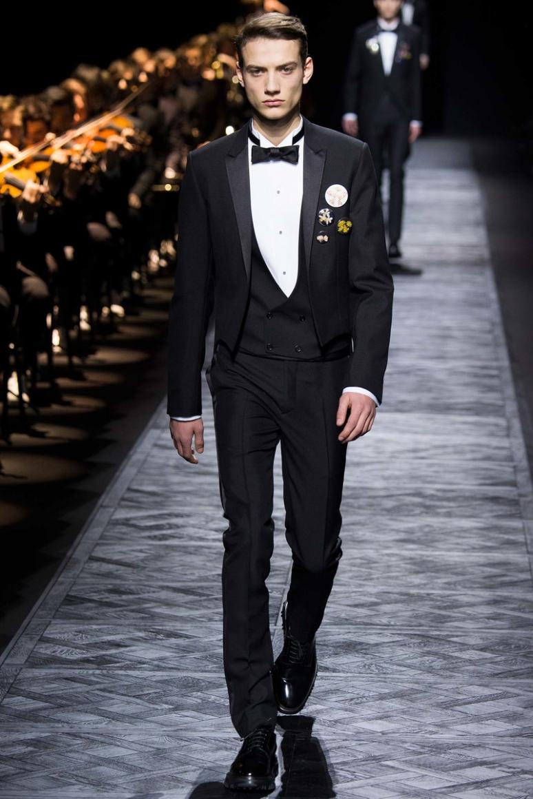 Dior Homme Menswear осень-зима 2015/2016 #47