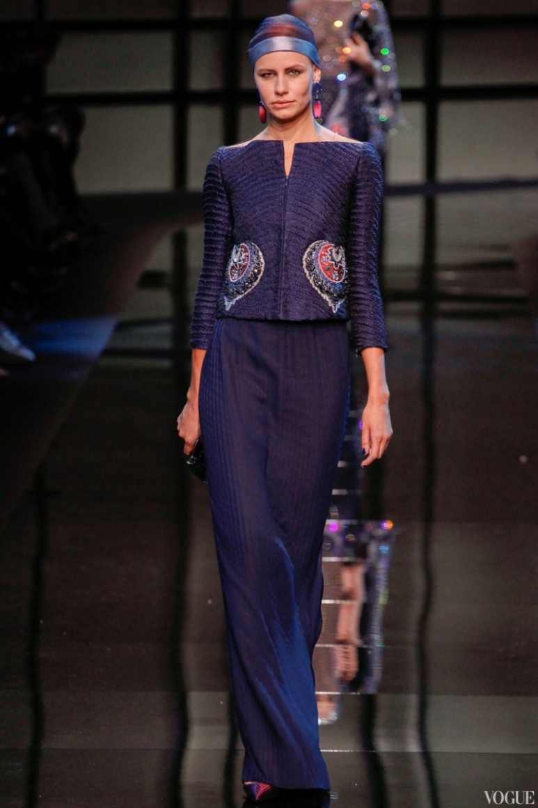 Armani Priv? Couture весна-лето 2014 #32