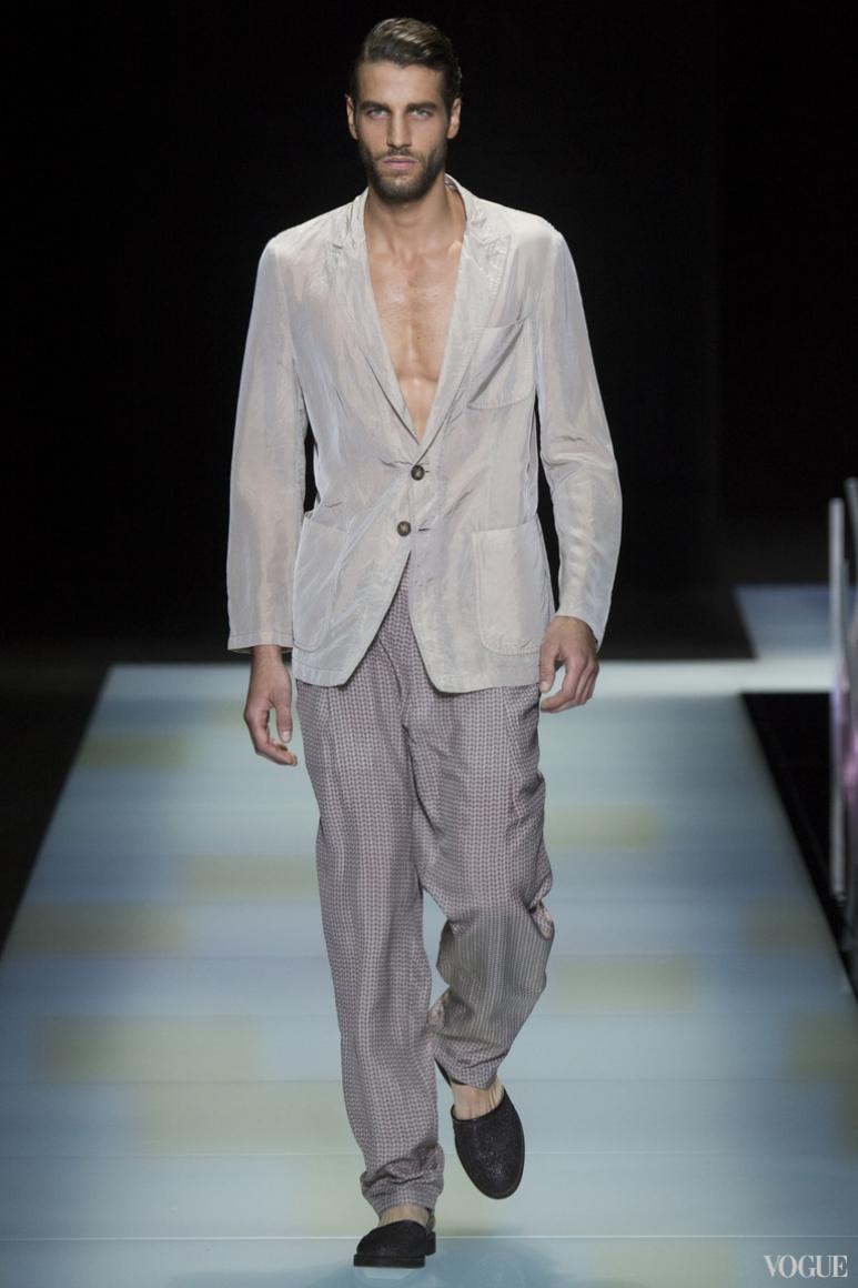 Giorgio Armani Menswear весна-лето 2016 #58