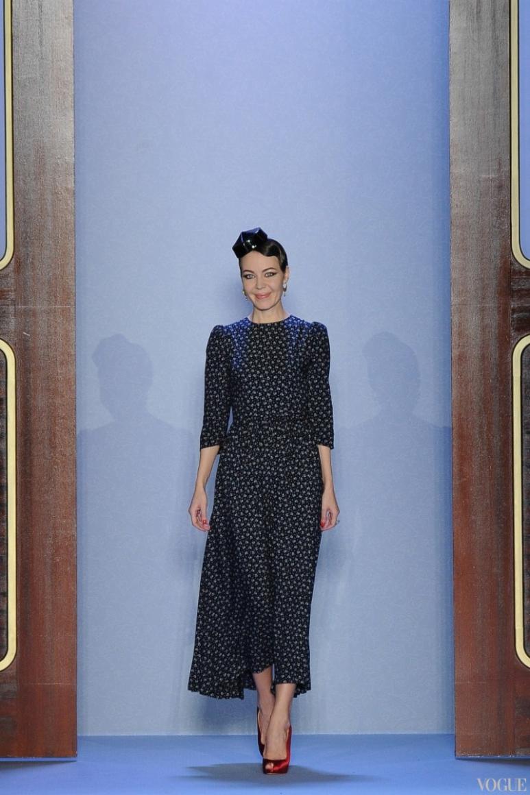 Ulyana Sergeenko Couture весна-лето 2014 #1