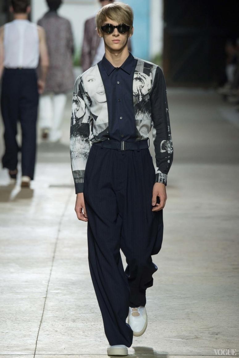 Dries van Noten Menswear весна-лето 2016 #50