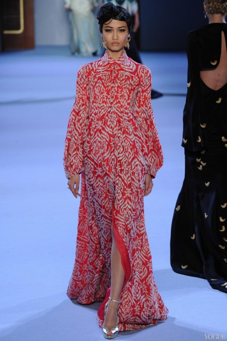 Ulyana Sergeenko Couture весна-лето 2014 #3