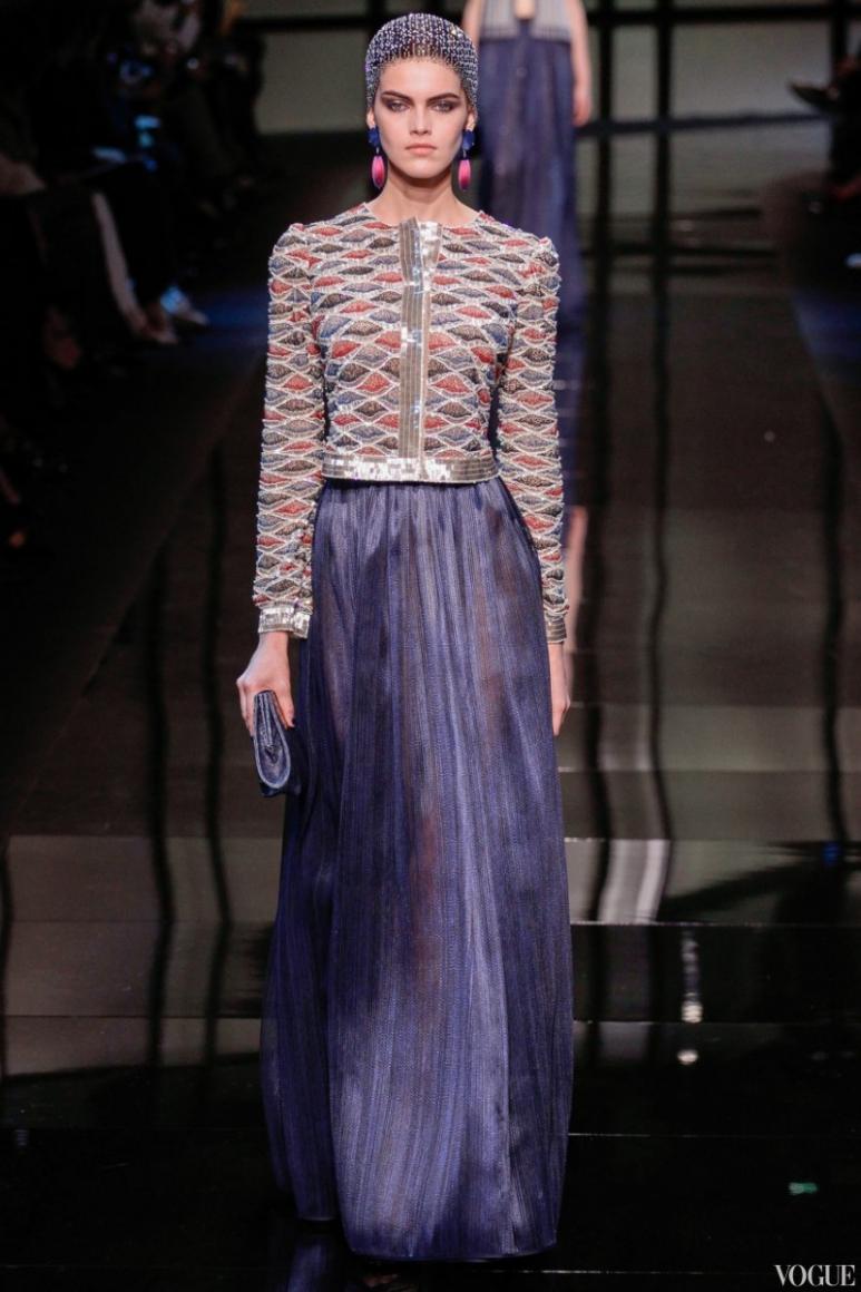 Armani Priv? Couture весна-лето 2014 #35