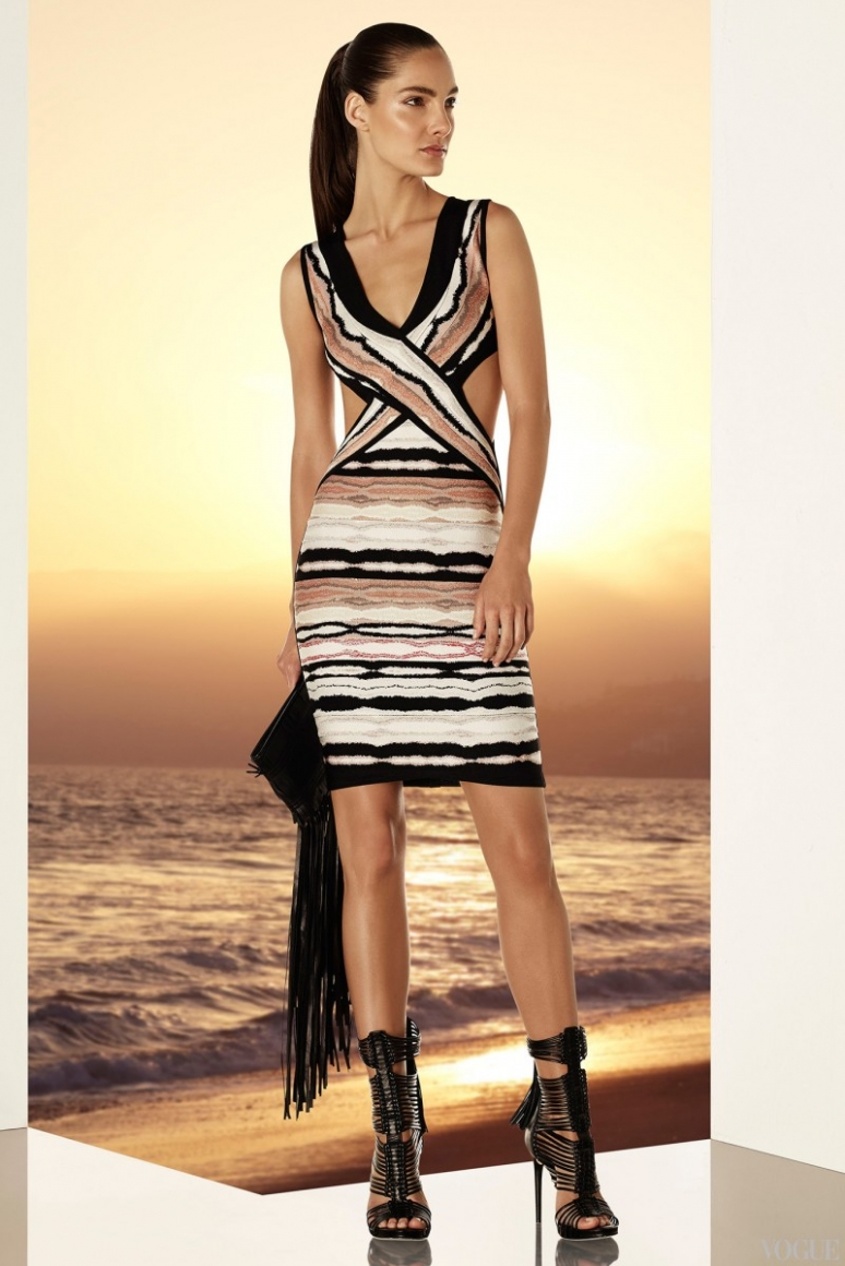 Herve Leger by Max Azria Resort 2015 #20