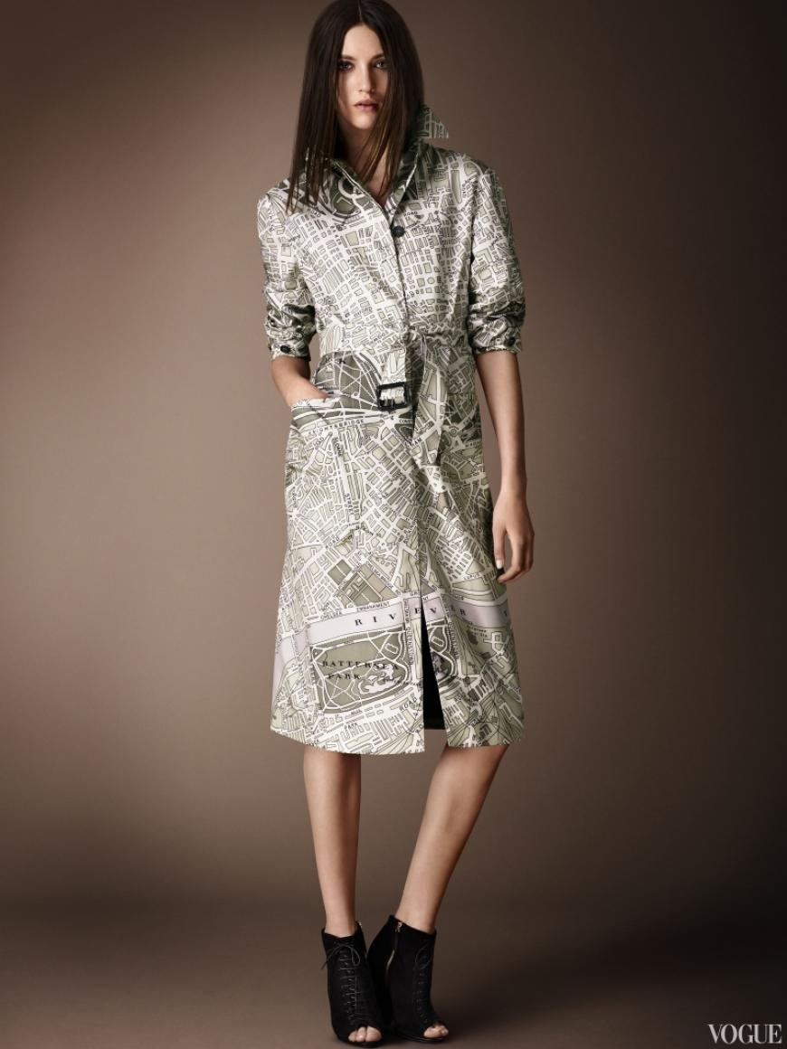 Burberry Prorsum Couture весна-лето 2013 #1