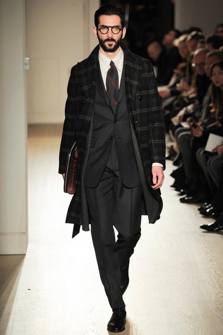 Dunhill Menswear осень-зима 2015/2016 #5
