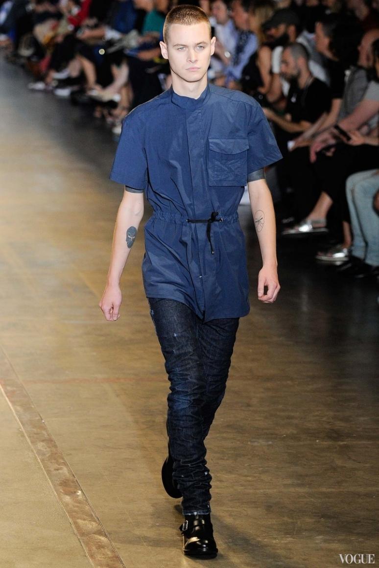 Diesel Black Gold Menswear весна-лето 2016 #18