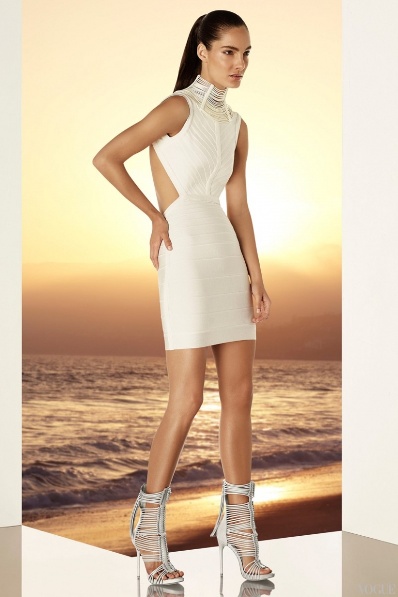 Herve Leger by Max Azria Resort 2015 #19