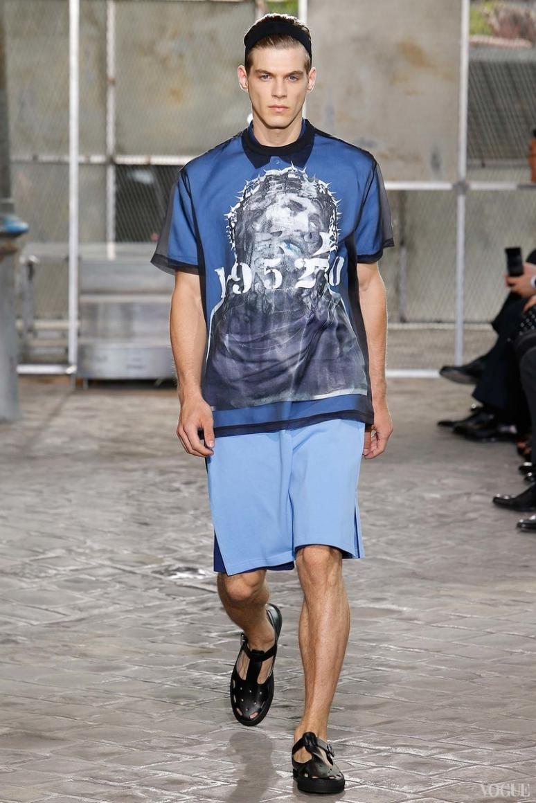 Givenchy Menswear весна-лето 2016 #45