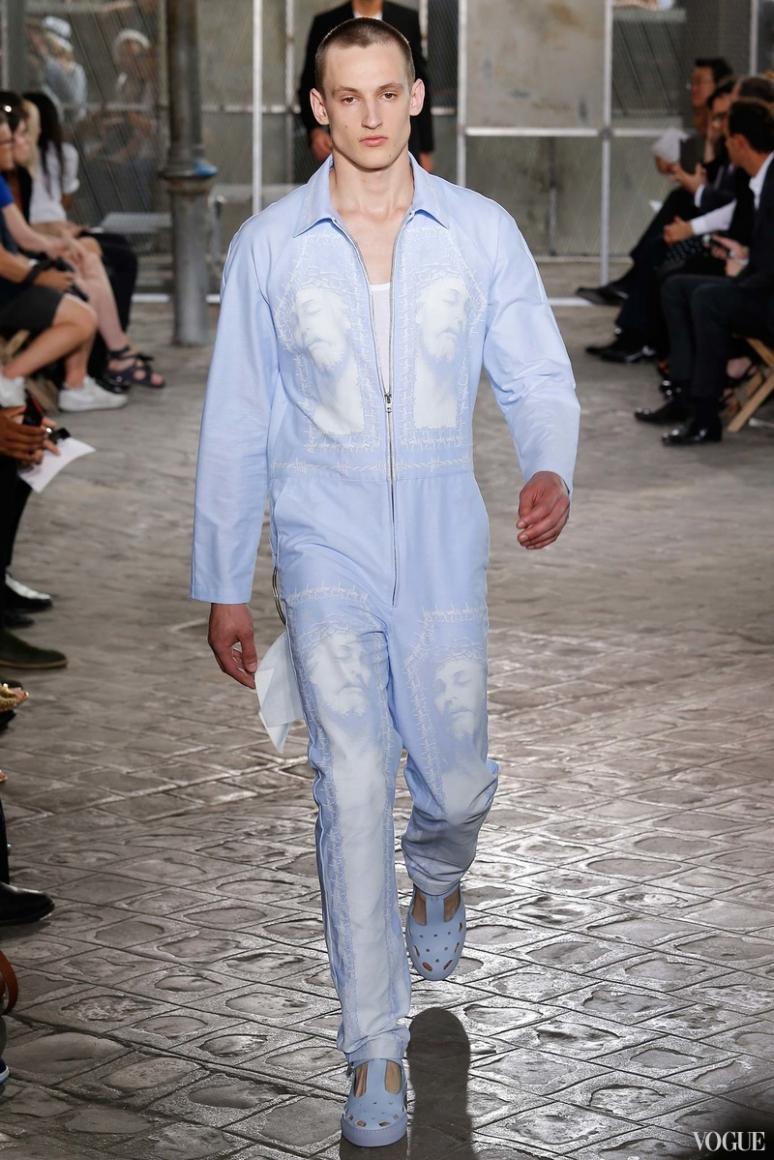 Givenchy Menswear весна-лето 2016 #12