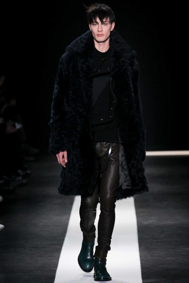 Ann Demeulemeester Menswear осень-зима 2015/2016 #16