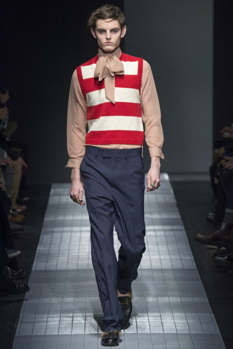 Gucci Menswear осень-зима 2015/2016 #8