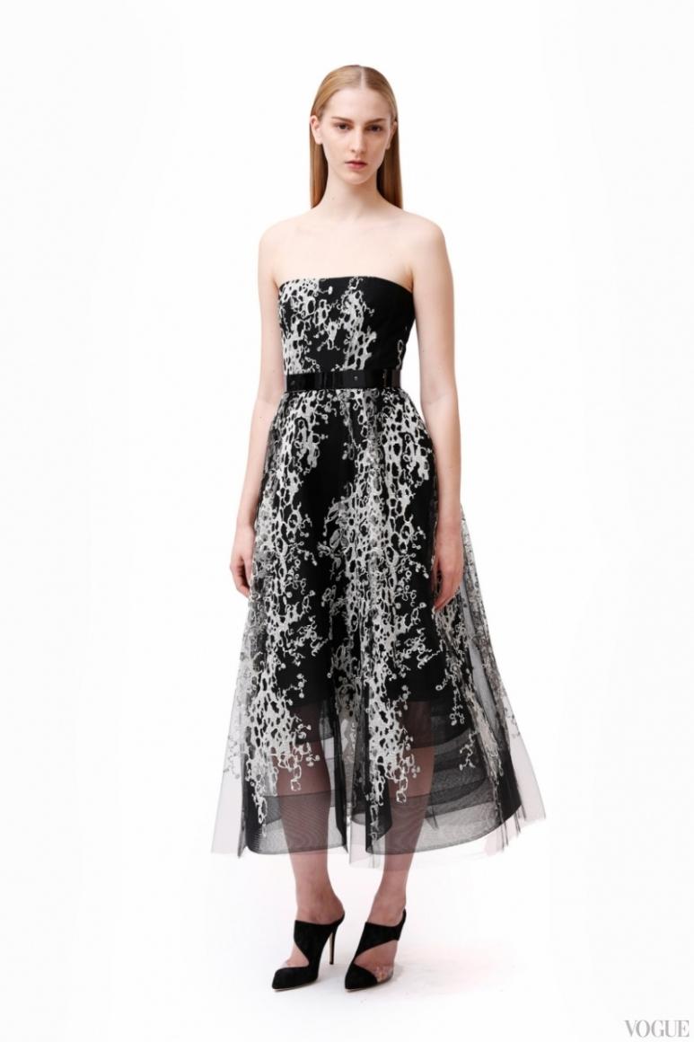 Monique Lhuillier Couture весна-лето 2013 #9