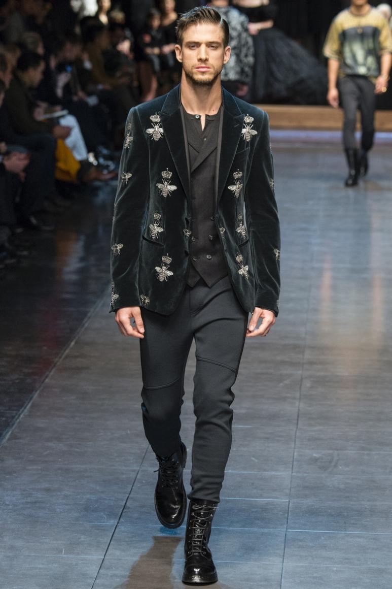 Dolce & Gabbana Menswear осень-зима 2015/2016 #42