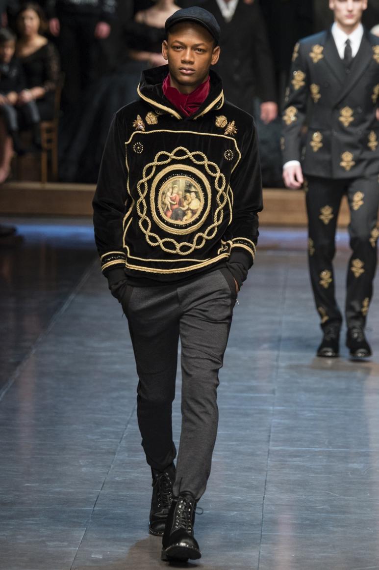 Dolce & Gabbana Menswear осень-зима 2015/2016 #59
