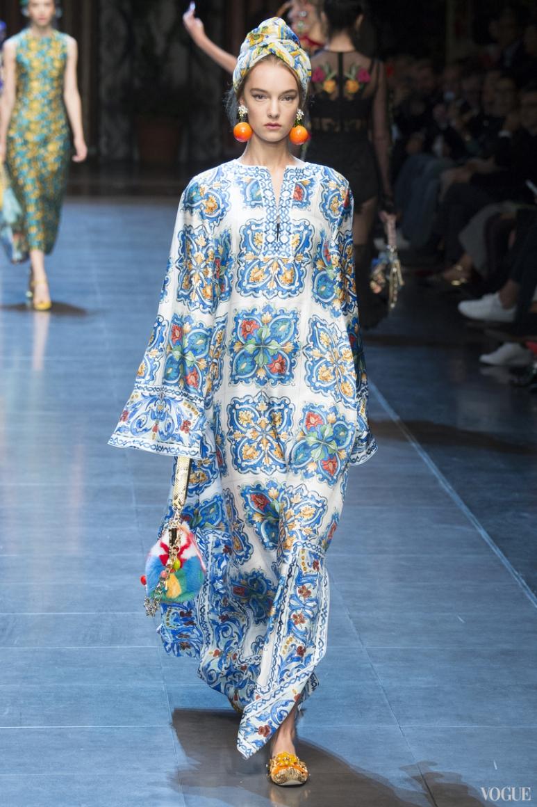 Dolce & Gabbana весна-лето 2016 #53