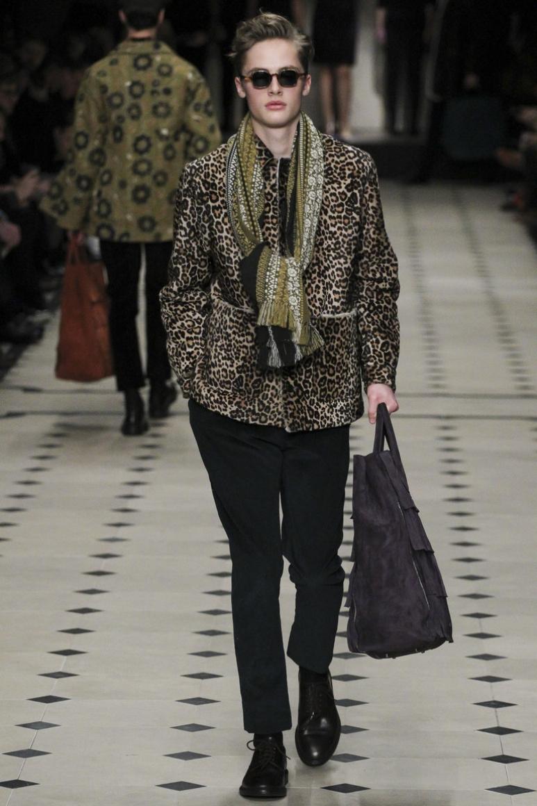Burberry Prorsum Menswear осень-зима 2015/2016 #33