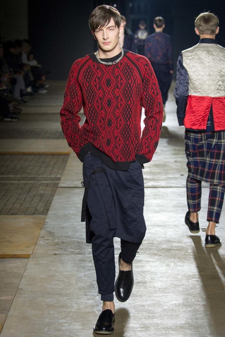 Dries van Noten Menswear осень-зима 2015/2016 #12