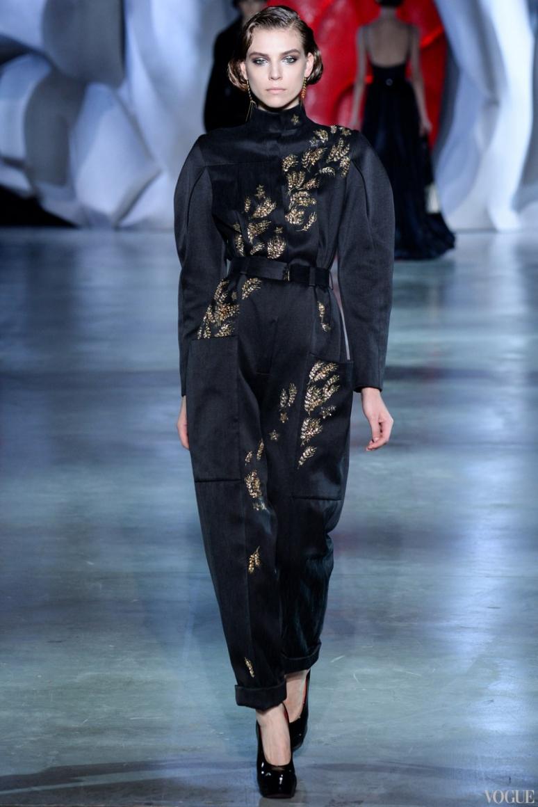 Ulyana Sergeenko Couture осень-зима 2014/2015 #5