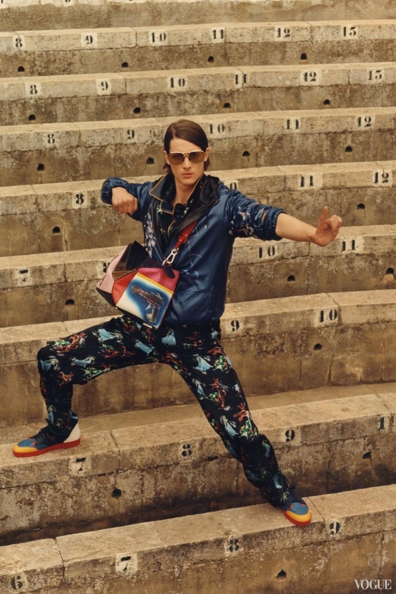 Loewe Menswear весна-лето 2016 #6