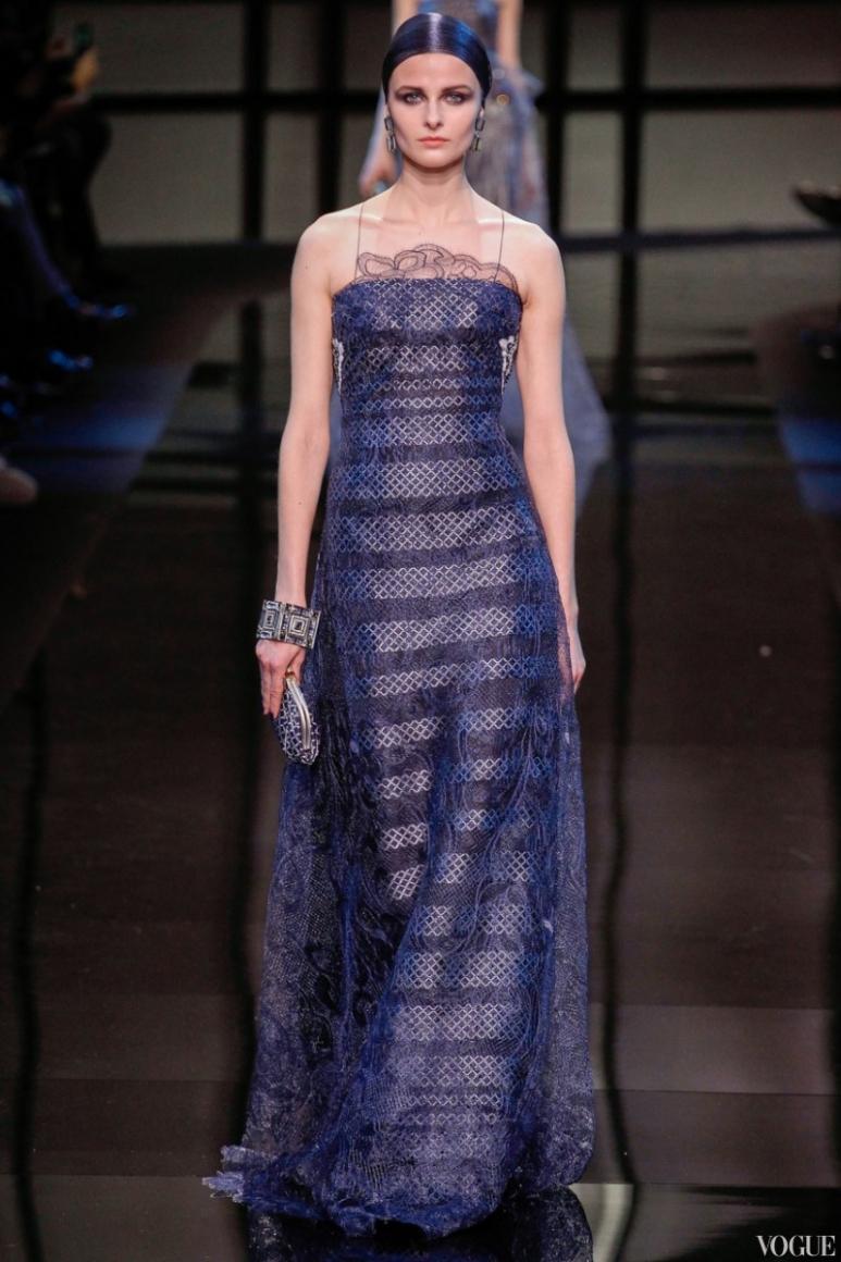 Armani Priv? Couture весна-лето 2014 #27