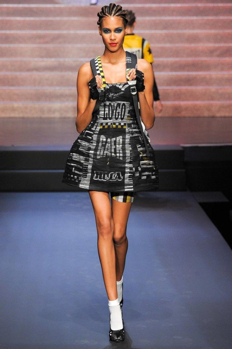 Jean Paul Gaultier весна-лето 2015 #59