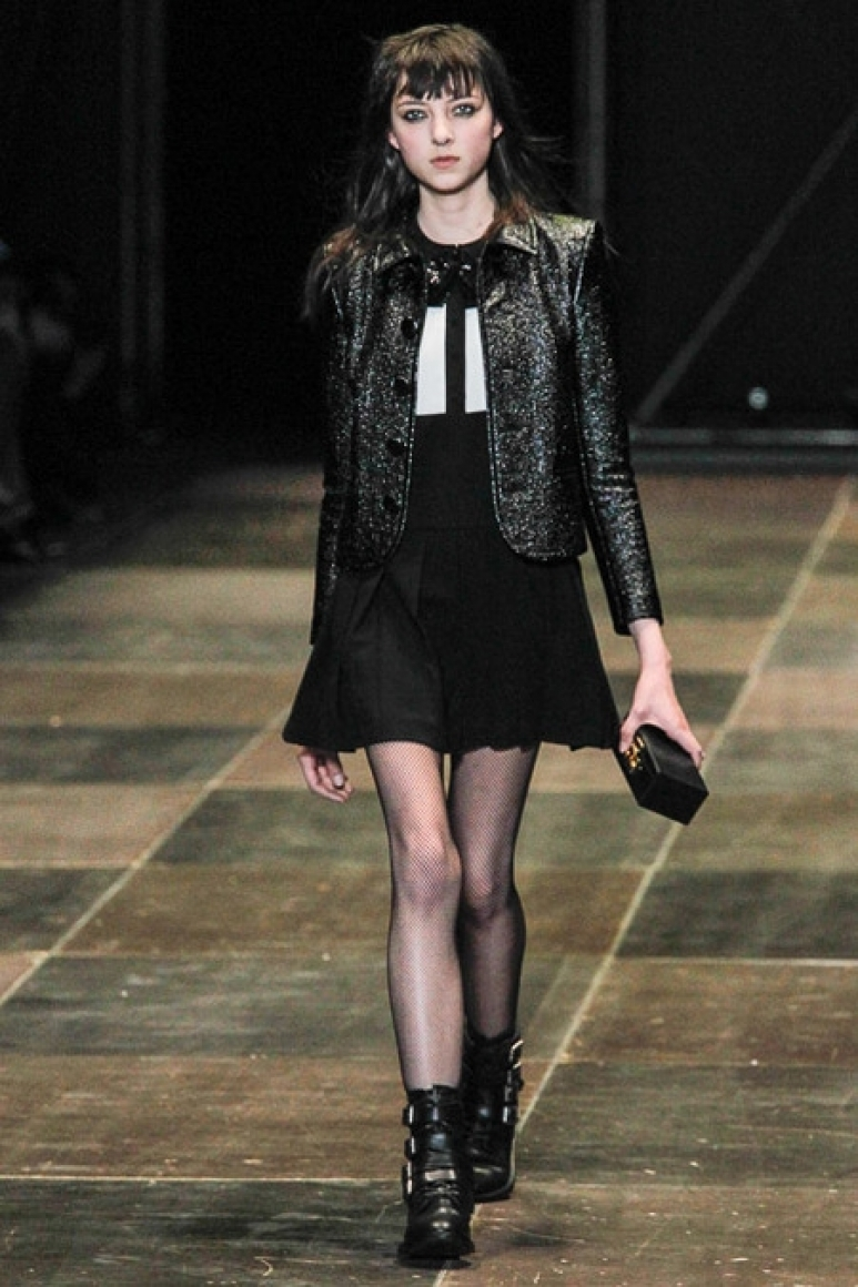 Saint Laurent осень-зима 2013/2014 #37