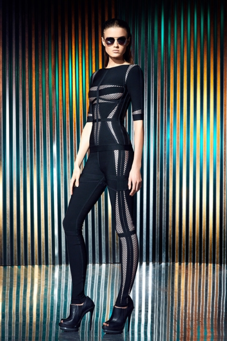 Herve Leger by Max Azria Resort 2014 #10